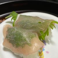 生ハム寿司