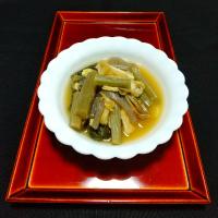 野沢菜漬けの煮菜
